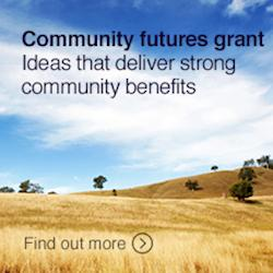Community futures grant